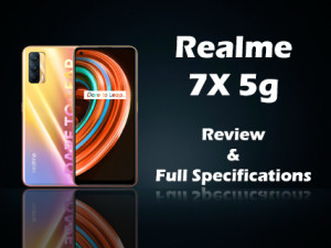 realme x7 5G Price in India, Full Specifications