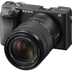SONY Alpha ILCE-6400M Mirrorless Camera with 18-135mm Zoom Lens(Black)