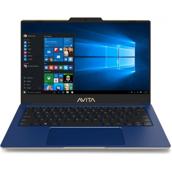 Avita Liber Core i7 10th Gen - (16 GB/1 TB SSD/Windows 10 Home) NS14A8INR671-PAG Thin and Light Laptop(14 inch, Golden Navy Blue, 1.25 kg)