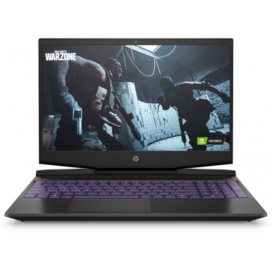 HP Pavilion Gaming Core i5 11th Gen - (8 GB/1 TB HDD/256 GB SSD/Windows 10 Home/4 GB Graphics/NVIDIA GeForce GTX 1650/144 hz) 15-DK2100TX Gaming Laptop(15.6 inches, Shadow Black & Ultra Violet, 2.28 kg, With MS Office)