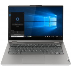Lenovo Thinkbook Convertible Core i5 11th Gen - (16 GB/512 GB SSD/Windows 10 Home) TB14s ITL Yoga 2 in 1 Laptop(14 inch, Mineral Grey, 1.5 kg, With MS Office)