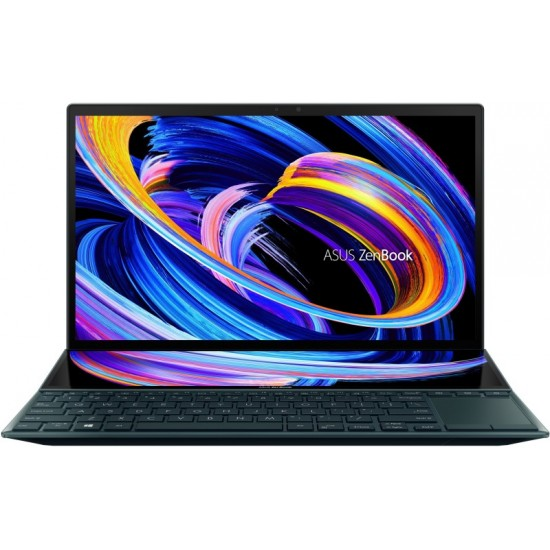 ASUS ZenBook Duo 14 (2021) Core i7 11th Gen - (16 GB/1 TB SSD/Windows 10 Home) UX482EA-HY777TS Thin and Light Laptop(14 inch, Celestial Blue, 1.57 kg, With MS Office)