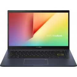ASUS VivoBook Ultra 14 Core i5 10th Gen - (8 GB + 32 GB Optane/512 GB SSD/Windows 10 Home/2 GB Graphics) X413JP-EB522TS Thin and Light Laptop(14 inch, Bespoke Black, 1.40 kg, With MS Office)