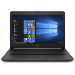 HP 14q Core i3 7th Gen - (4 GB/256 GB SSD/Windows 10 Home) 14q-cs0019TU Thin and Light Laptop(14 inch, Jet Black, 1.47 kg, With MS Office)
