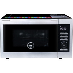 Godrej 33 L Convection & Grill Microwave Oven(GME 733 CM1 SM, Silver)