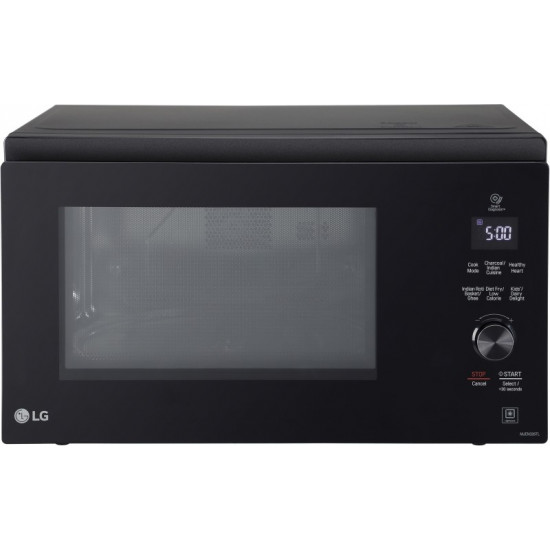 LG 32 L With Twister Smog Handle Convection Microwave Oven(MJEN326TL, Black)