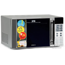IFB 20 L Metallic silver Convection Microwave Oven(20SC2, Silver)