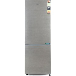 Haier 256 L Frost Free Double Door Bottom Mount 3 Star Refrigerator(Brush Line Silver, HRB-2763BS-E)