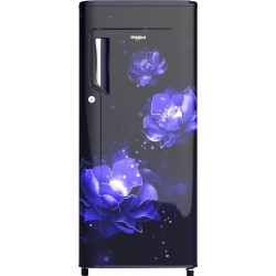 Whirlpool 185 L Direct Cool Single Door 2 Star Refrigerator(Blue, 200 impc prm 2s sapphire abyss)