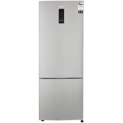 Haier 345 L Frost Free Double Door Bottom Mount 2 Star Convertible Refrigerator(Inox Steel, HRB-3654PIS-E)