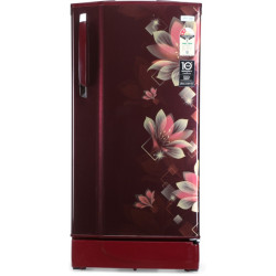Godrej 190 L Direct Cool Single Door 2 Star Refrigerator  with In-built MP3 Player(Noble Wine, RD 1902 PM 23 NB WN)