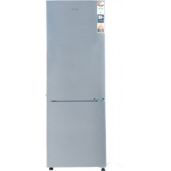 Haier 256 L Frost Free Double Door Bottom Mount 3 Star Convertible Refrigerator(Shinny Steel, HRB-2763CSS-E)