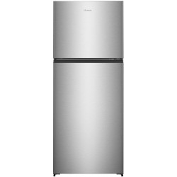 Hisense 411 L Frost Free Double Door 2 Star Refrigerator(STAINLESS STEEL, RT488N4ASB2)