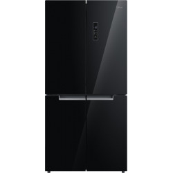 Midea 544 L Frost Free French Door Bottom Mount Refrigerator(Glass Door Finish, MDRM648FGG22IND)