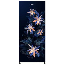 Haier 256 L Frost Free Double Door Bottom Mount 2 Star Refrigerator(MarineTropical, HRB-2763CMT-E)
