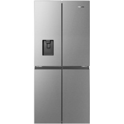 Hisense 507 L Frost Free French Door Bottom Mount Refrigerator(STAINLESS STEEL, RQ561N4ASN)