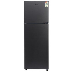 Haier 258 L Frost Free Double Door 3 Star Convertible Refrigerator(Brushline Silver, HRF-2783BS-E)