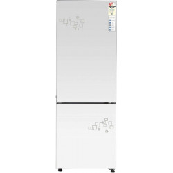 Haier 256 L Frost Free Double Door Bottom Mount 3 Star Convertible Refrigerator(Mirror Glass, HRB-2764PMG-E)