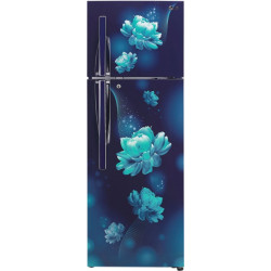 LG 308 L Frost Free Double Door 2 Star Convertible Refrigerator(Blue Charm, GL-T322RBCY)