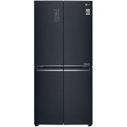 LG 594 L Frost Free Side by Side Inverter Technology Star Refrigerator  with with Hygiene Fresh+ and Smart ThinQ(WiFi Enabled)(Matte Black, GC-B22FTQPL)