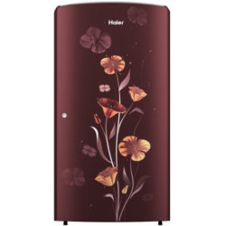 Haier 192 L Direct Cool Single Door 2 Star Refrigerator(Red Freesia, HRD-1922BRF-E)