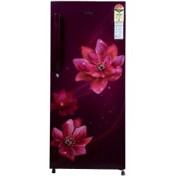 Haier 195 L Direct Cool Single Door 4 Star Refrigerator(?Red Peony, HRD-1954CRP-E)