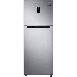 SAMSUNG 390 L Frost Free Double Door 3 Star Convertible Refrigerator(Silver, RT39T551ES8/TL)