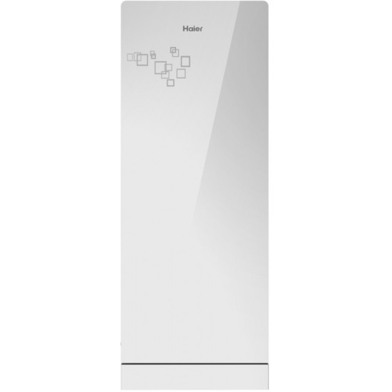 Haier 192 L Direct Cool Single Door 3 Star Refrigerator with Base Drawer(Mirror Glass, HRD-1923PMG-E)