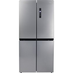 Midea 544 L Frost Free French Door Bottom Mount Refrigerator  with Four Door(Silver, MRF5520MDSSF)