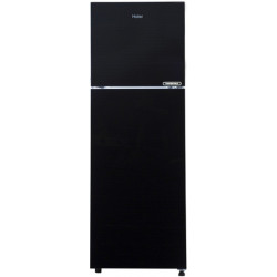 Haier 258 L Frost Free Double Door 3 Star (2019) Convertible Refrigerator(Black Glass, HRF-2783CKG-E)