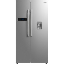 Midea 584 L Frost Free Side by Side Refrigerator(Stainless Steel Finish, MRF5920WDSSF)