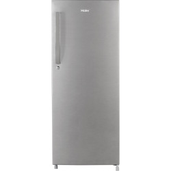Haier 220 L Direct Cool Single Door 4 Star Refrigerator(Brushline Silver, HED-22CFDS)