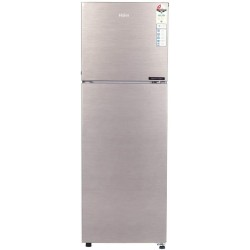 Haier 258 L Frost Free Double Door 2 Star Convertible Refrigerator(BRUSH LINE SILVER, HRF-2783 BS-E)