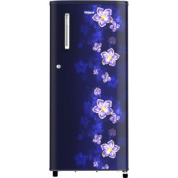 Whirlpool 190 L Direct Cool Single Door 3 Star Refrigerator(Sapphire Twinkle, WDE 205 CLS PLUS 3S)