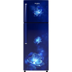 Whirlpool 245 L Frost Free Double Door 2 Star Refrigerator(Sapphire Radiance, NEO 258LH ROY SAPPHIRE RADIANCE (2S)-N)