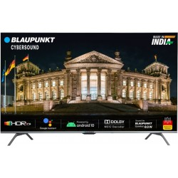 Blaupunkt Cybersound 126 cm (50 inch) Ultra HD (4K) LED Smart Android TV with Dolby MS12 & 60W Speakers(50CSA7007)