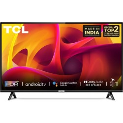 TCL 2021 Edition 79.97 cm (32 inch) HD Ready LED Smart Android TV(32P30S)