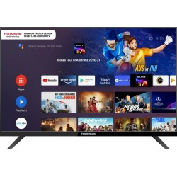 Thomson 9A Series 80 cm (32 inch) HD Ready LED Smart Android TV with Bezel Less Display(32PATH0011BL)