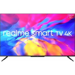 realme 126 cm (50 inch) Ultra HD (4K) LED Smart Android TV with Handsfree Voice Search and Dolby Vision & Atmos(RMV2005)