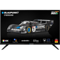 Blaupunkt Cybersound 106 cm (42 inch) Full HD LED Smart Android TV with 40W Speaker(42CSA7707)