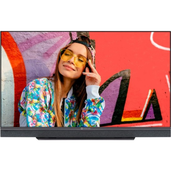 MOTOROLA Revou 108 cm (43 inch) Ultra HD (4K) LED Smart Android TV with Dolby Atmos and Dolby Vision(43SAUHDMG)