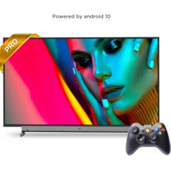 MOTOROLA ZX Pro 127 cm (50 inch) Ultra HD (4K) LED Smart Android TV with Wireless Gamepad(50SAUHDMQ)