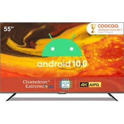 Coocaa 138 cm (55 inch) Ultra HD (4K) LED Smart Android TV with 10.0 Q(55S6G Pro)