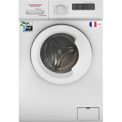 Thomson 10.5 kg 5 Star, Germ Purifier Technology Fully Automatic Front Load with In-built Heater White(Q10 Ultra Series)