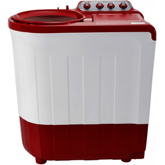 Whirlpool 7.5 kg 5 Star, Supersoak Technology Semi Automatic Top Load Red(Ace 7.5 Sup Soak (Coral Red) (5 yr))