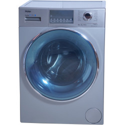 Haier 8 kg Fully Automatic Front Load with In-built Heater Grey(HW80-IM12826TNZP)