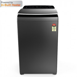Whirlpool 7.5 kg 5 Star, Inbuilt Heater Fully Automatic Top Load with In-built Heater Grey(360 BW PRO (540) H 7.5 GRAPHITE 10YMW)