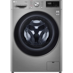 LG 10.5/7 kg Inverter Wi-Fi with Turbo Wash 360 degree Washer with Dryer with In-built Heater Silver(FHD1057SWS)