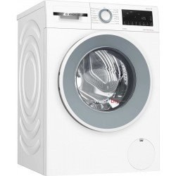 Bosch 10/6 kg Fully Automatic Front Load Washer with Dryer with In-built Heater White(WNA254U0IN)