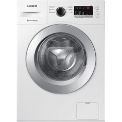 SAMSUNG 6.5 kg 5 star Inverter Fully Automatic Front Load with In-built Heater White(WW65R20GLSW/TL)